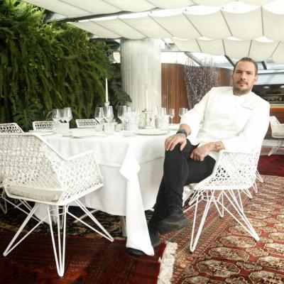 Aurelio Morales en La Terraza del Claris