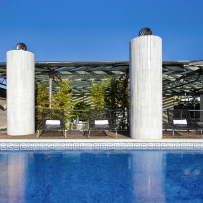 Hotel Claris poolandterrace  (2)