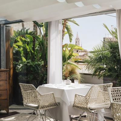 Terraza del Claris, Barcelona, stay and food